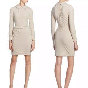 Karen Millen Peter Pan Collar Jersey Dress Sz 6